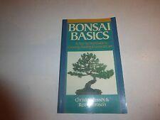 BONSAI BASICS [9780806903279] - REMY SAMSON CHRISTIAN PESSEY PB New B123