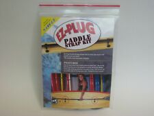 Surfco Hawaii Ez Plug Peal And Stick Paddle Strap Kit Black New In Retail Pack