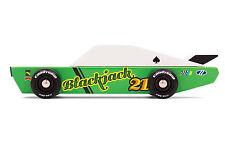Candylab blackjack coches de carreras auto de madera procedentes de los Estados Unidos m1101