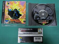 Neo Geo CD -- Magician Lord -- included spine card. JAPAN GAME. SNK. 15403