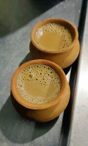 12Pcs Clay Tea Cups Coffee Mugs Indian Chai Kulhar For Tea Coffee Milk
