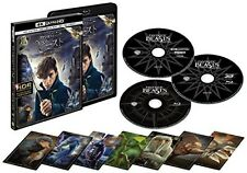 Fantastic Beasts and Where to Find Them 4K ULTRA HD 3D 2D Blu-ray Card Japan
