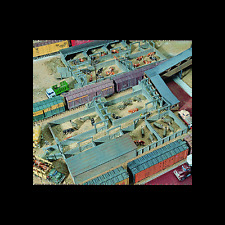STOCK YARDS - HO SCALE CORNERSTONE KIT 933-3047