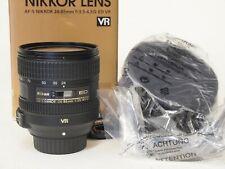 Nikon Nikkor 24-85mm f/3.5-4.5G AF-S FX VR lens, Boxed Stock No u11194