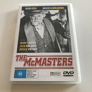 The McMasters DVD David Carradine Burl Ives Jack Palance Brock Peters