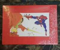 1994 Marvel Animated Spiderman Hobgoblin Animation Cel Cell Reproduction Print