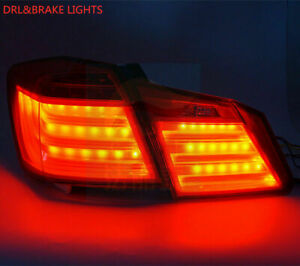For Honda Accord sedan Tail Lights 2013 2014 2015 Full LED 4pc Red Rear Assembly