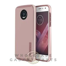 Motorola Moto Z2 Play Incipio DualPRO Case - Iridescent Rose Gold/Pink Cover