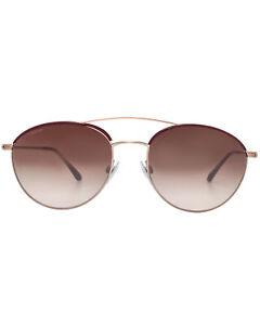 Giorgio Armani Women's Metal Brown Sunglasses AR6032J-300413