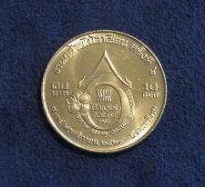 Coins: World King Bhumibol Adulyadej Rama Ix 1986 Thailand 2 Baht Coin International Peace Special Buy Coins & Paper Money