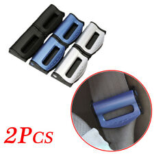 Pair Car Universal Safety Seat Belt Clip Clamp Regulate Holder Adjuster Buckle