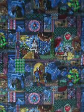 BELLE BEAUTY BEAST STAINED GLASS WINDOW COTTON FABRIC FQ