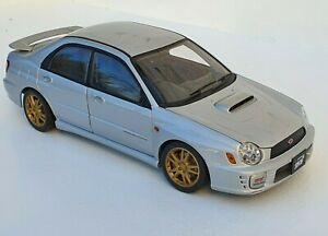 1:18 Subaru Impreza WRX STI New Age 2001 Silver By Auto Art ( 78641 )
