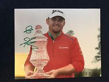 JB Holmes PGA Golf Signed 8 X 10 Photo Autographed