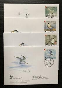 Hrvatska Stamp WWF FD Covers