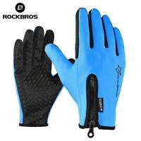 ROCKBROS Anti-slip Snowboard Ski Gloves Thermal Waterproof Touch Sreen Skiing