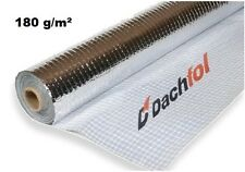 Roof Vapour Barrier Insulation Foil Membrane Metallized Aluminium 1.5mx50m HEAT.