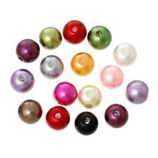 300 Pcs Mixte Perles en Acrylique Rond 8mm Dia H5A2