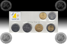 VATICAN SET 1987 - 6 coins 1987 ( 10, 20, 50, 100, 200, 500 LIRE ) UNCIRCULATED