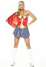 Super Hero Girl Wonder Woman Jessie Graff Ninja Warrior Halloween Costume Sz X/L