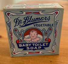 "Vintage ""Dr. Blumers Vegetable Baby Toilet Soap� Box"
