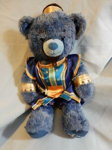 "Build A Bear Disney ALLADIN Blue Bear in Genie Outfit 16"" Sound box in Paw"