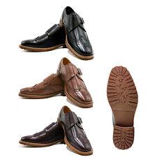 UV SIGNATURE Men's Monk Strap Comfortable Dress Shoes