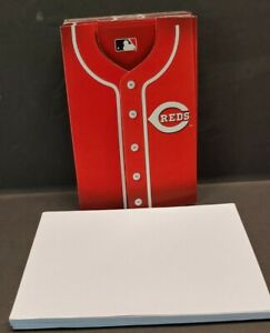 PARTY TIME 2010 Cincinnati Reds Invitations Red Uniform Shirts Lot of 14 New