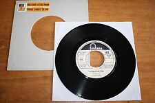 """Colosseum / 7"""" record Italy PROMO Jukebox / Walking in The Park - Those about to"""