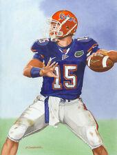 TIM TEBOW FLORIDA GATORS ART PRINT #2