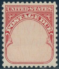 """#J89a """"Postage Due"""" Single Stamp Black Omitted Major Error Bq8665"""