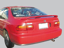 "UN-PAINTED ""OE LOOK"" REAR SPOILER W/LED LIGHT FOR 1992-1995 HONDA CIVIC 2DR CPE"