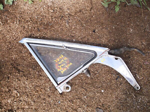 1963 1964 65 Falcon Comet Vent Wing Window HARDTOP & CONV ONLY RH RE-CHROME