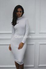 Vestido largo de mujer de color principal blanco