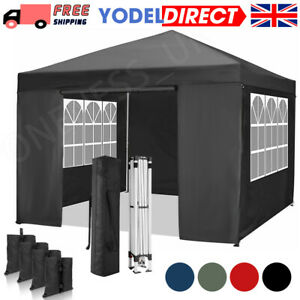 Gazebo Outdoor Marquee Canopy Garden Wedding Party Tent Water-Resistant Pavilion