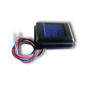 CT Sounds Universal Car Audio Voltage Meter Basic 3 Wire System for System Volt