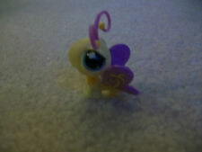 Littlest Pet Shop ❀ LPS ❀#621 Yellow Butterfly with Purple Wings & Blue Eyes, 20