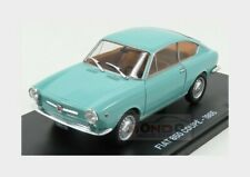 Fiat 850 Coupe 1965 Damage Blister Box Light Blue Met EDICOLA 1:24 ABMFA002 Mini