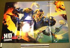 X-O MANOWAR # 1 VARIANT ACCLAIM COMICS PAINTED PROMOTIONAL POSTER VALIANT 1996