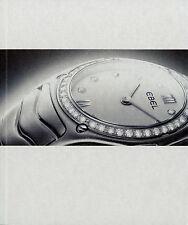Prospekt Katalog Ebel Uhren 2002 Armbanduhren 4/02 Damenuhr Herrenuhr Broschüre