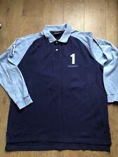 hackett polo shirt Size Extra Large Mens Long Sleeve