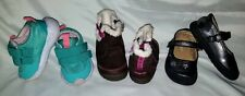 Stride Rite - Cat & Jack Girl Baby Toddler Boots Shoes Sz 3.5 & 4 - Lot of 3