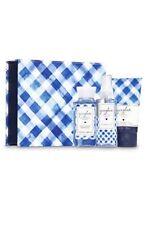 Bath Body Works GINGHAM Mini Fragrance Mist Body Cream Shower Gel Box Set Travel