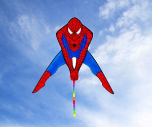 Spiderman Marvel Single Line Kite  Outdoor Fun Toys Fast UK Delivery Great Value