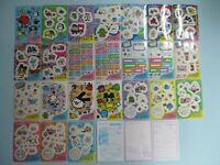 Tamagotchi BANDAI 1997 Sealdass Carddass world Card Sticker 3