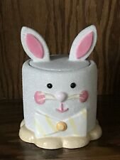 Midwest of Cannon Falls Ceramic White Easter Bunny Rabbit Goody Jar