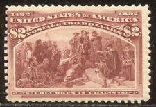 U.S. #242 Mint - 1893 $2.00 Columbian ($1,050)