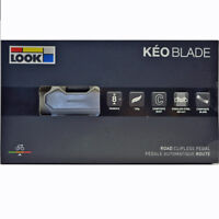 NEW 2018 LOOK KEO BLADE Composite Pedals & Grey Cleat set-WHITE: 8Nm