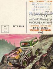 Jeep Willys fc-150 camión cargo area pick-up folleto brochure old original