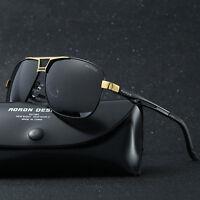 Polarized Men's Driving glasses Aviator outdoor Sports UV400 Eyewear sunglasses